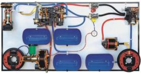 Automotive Hydraulic – Pneumatic Braking System Demonstrator Model AM 011