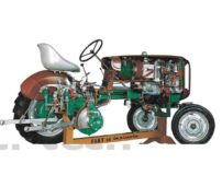 Automotive Tractor with Diesel Engine Model AM 272