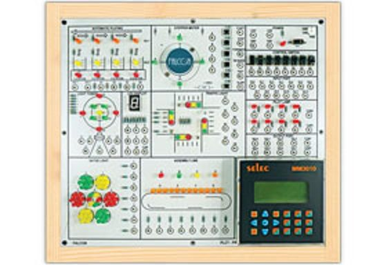 Advanced PLC Trainer Using Micrologix PLC Model PCT 042