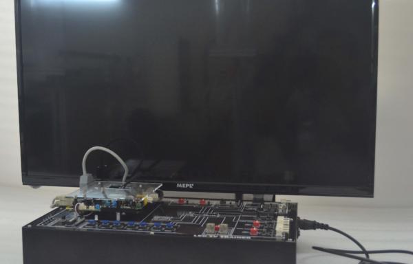 Color TV Trainer MODEL ETR 012