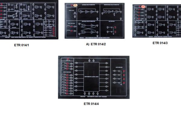 Digital Logic Trainer Model ETR 014