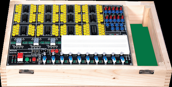 Digital Logic Circuits Trainer Kit Model ETR 015