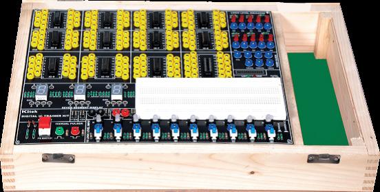 Digital Trainer Lab Kits Model ETR 013