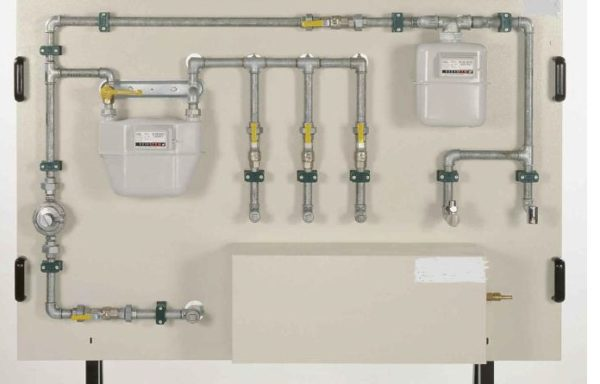 Domestic Gas Supply Trainer Model PT 003