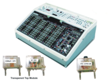 Automotive Introductory Electronic Circuit Trainer with Plug-in Modules Model AM 045I