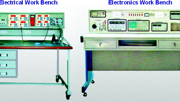 Work Benches: Electronic & Electrical Model ETR 019E & ETR 019EL