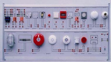 Security & Fire Alarm Trainer Kit MODEL ELTR 034F