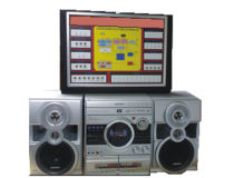 Hi-Fi MINI COMPONENT SYSTEM Trainer Model ETR 023