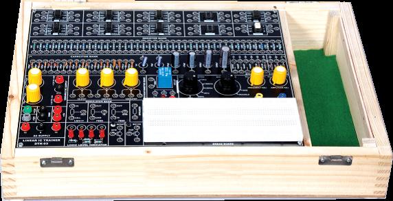 Linear IC Trainer Kit Model ETR 027