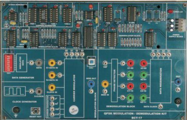 QPSK MODULATION / DEMODULATION KIT MODEL TCM 005-17