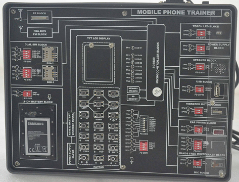Mobile Phone Trainer Model ETR 049