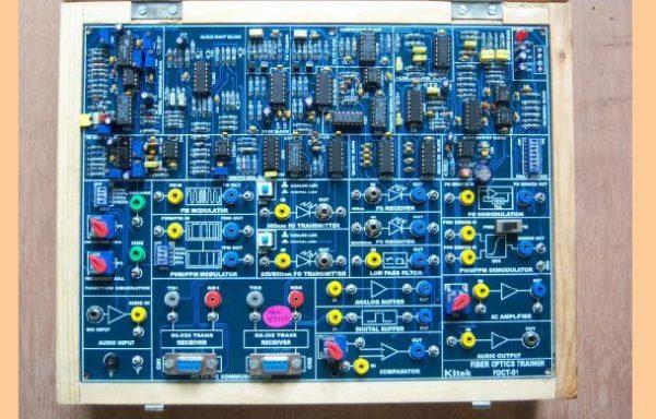 FIBER OPTICS TRAINER Model TCM 008-02