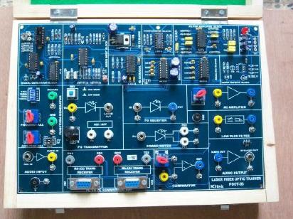 Laser Fiber Optics Trainer Model TCM 008-03