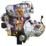 Automotive Multipoint Electronic Injection Petrol Engine Model AM 139