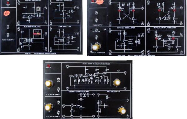 Oscillators Trainer Model ETR 062