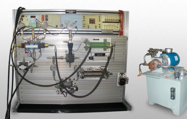 PLC Controlled Hydraulic Trainer Model PCT 038
