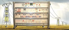 Electrical Power System Trainer: Distribution System Model ELTR 025