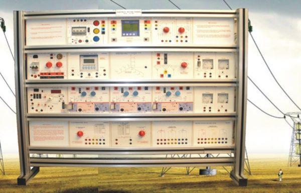 Electrical Power System Trainer: Distribution System Model ELTR 025