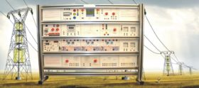 Electrical Power System Trainer: Transmission Line Simulator Model ELTR 026A