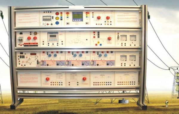 Electrical Power System Trainer: Transmission Line Simulator Model ELTR 026A