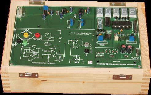 Pressure Measurement with Pressure Generator Model PCT 044