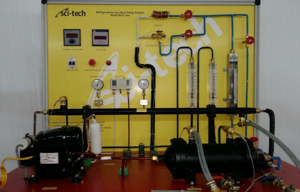 Refrigeration cum Heat Pump Trainer MODEL RAC 007