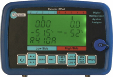 Digital Refrigeration System Analyzer Model RAC 037