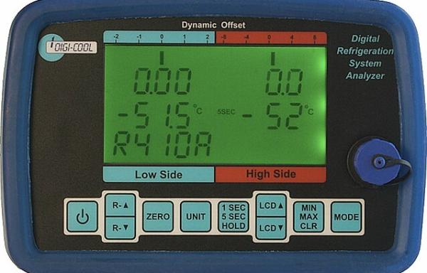 Digital Refrigeration System Analyzer Model RAC 037