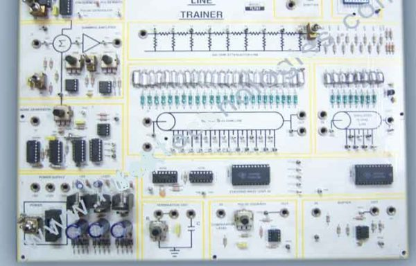 Transmission Line: Simulated & Actual Trainer Model TCM 018S, Model TCM 018A