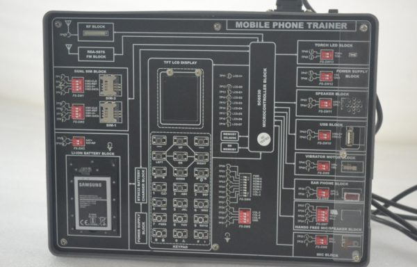 Mobile Telephone Trainer Model TCM 019 Specifications