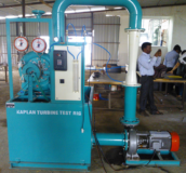 KAPLAN TURBINE TEST RIG Model FM 30