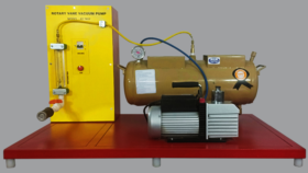 Rotary Vane Vacuum Pump Test Apparatus Model FM 94
