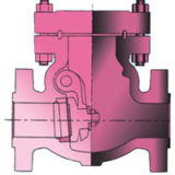 Check Valve (Cut Section) Model FMCS-CV