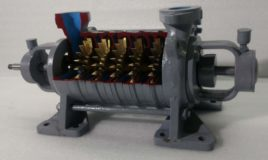 Multi Stage Centrifugal Compressor Cutaway Model THC 011