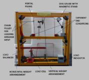 Plastic Bending of Portals Apparatus Model MT 061