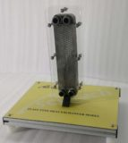 Plate Type Heat Exchanger Cutaway Model THC 010