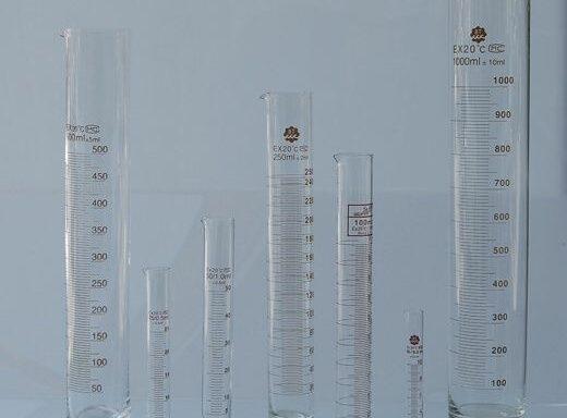 Graduated Glass Cylinder SCTGG-1000, SCTGG-1005, SCTGG-1010, SCTGG-1015, SCTGG-1020, SCTGG-1025, SCTGG-1030 & SCTGG-1035