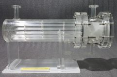 U Tube Heat Exchanger Cutaway Model THC 002