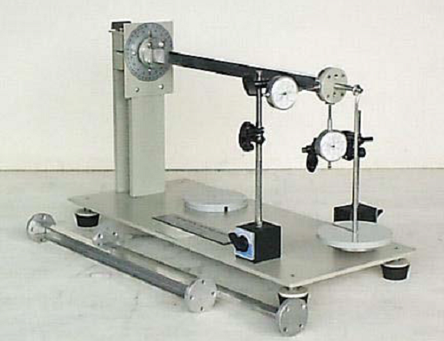 Unsymmetrical Bending & Shear Centre Apparatus Model MT 075