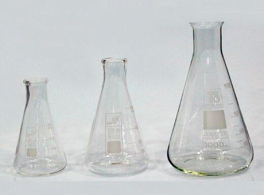 Erlenmeyer Flasks SCTGG-1900, SCTGG-1905, SCTGG-1910, SCTGG-1915, SCTGG-1920, SCTGG-1925, SCTGG-1930, SCTGG-1935 & SCTGG-1940