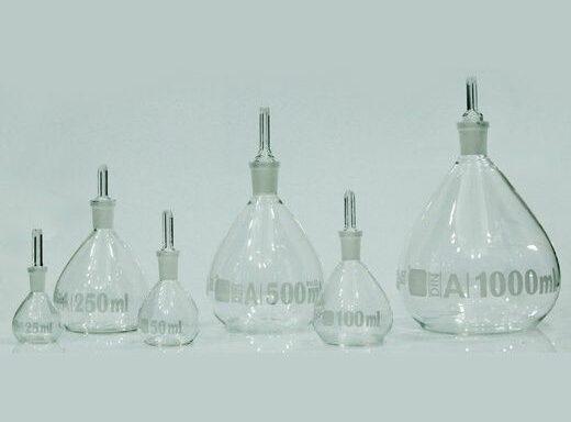 Pyknometers (Specific Gravity Bottle) SCTGG-1500, SCTGG-1505, SCTGG-1510, SCTGG-1515, SCTGG-1520, SCTGG-1525 & SCTGG-1530