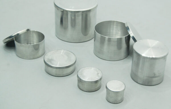 Moisture Content Tin with Lid SCTGH-1400, SCTGH-1402, SCTGH-1405, SCTGH-1407, SCTGH-1410, SCTGH-1415, SCTGH-1420, SCTGH-1425, SCTGH-1430, SCTGH-1433, SCTGH-1435, SCTGH-1460 & SCTGH-1465