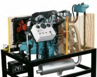 Petrol & Diesel Running Engine Training System Model AM 345