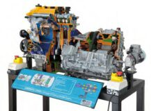 Hybrid Engine System Model AM 554
