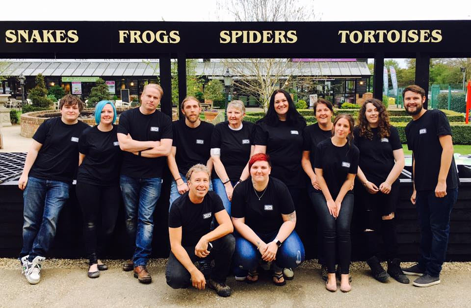 northampton reptile & fish centre team