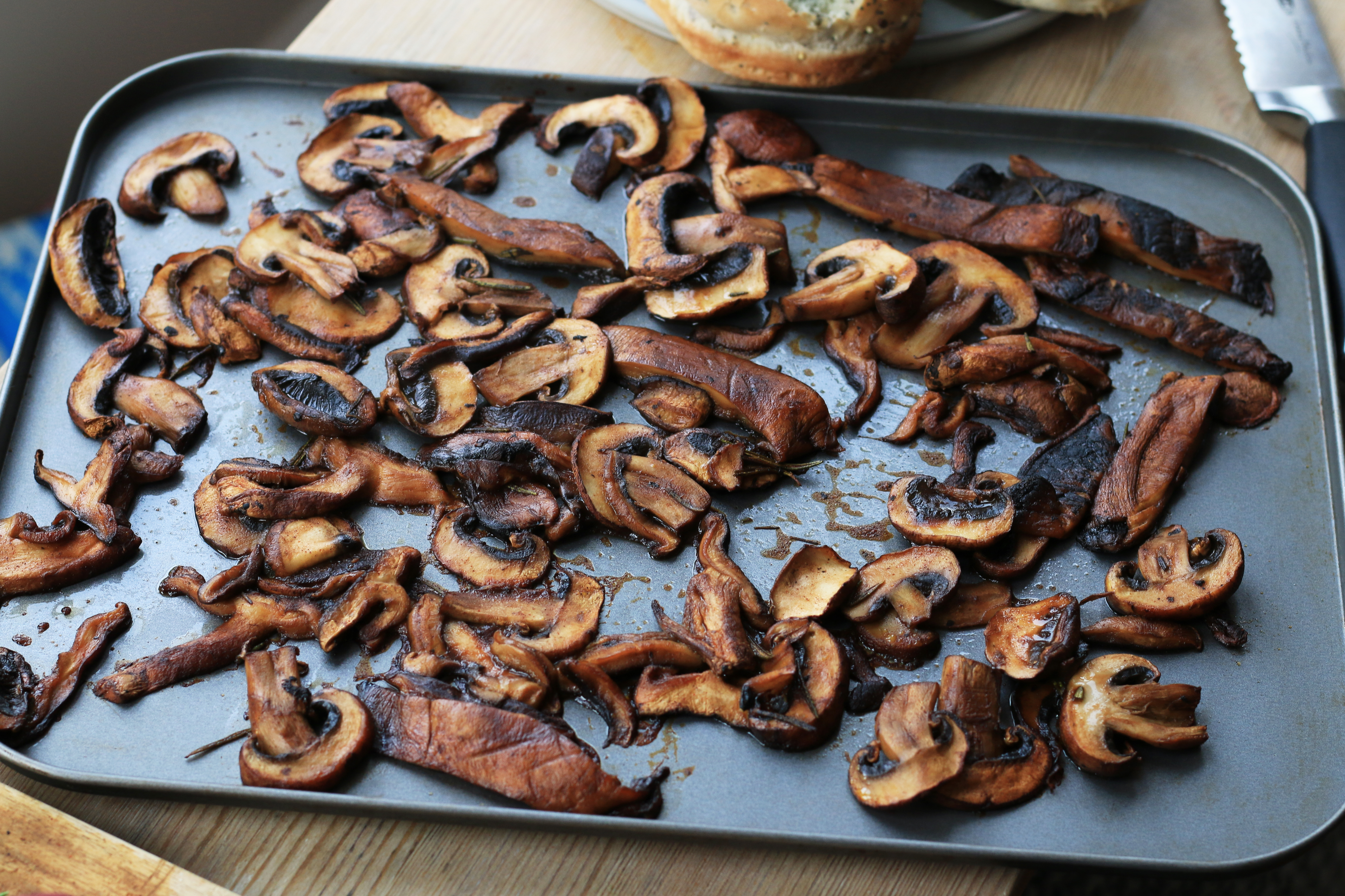 roasted mushrooms for tesco food love stories