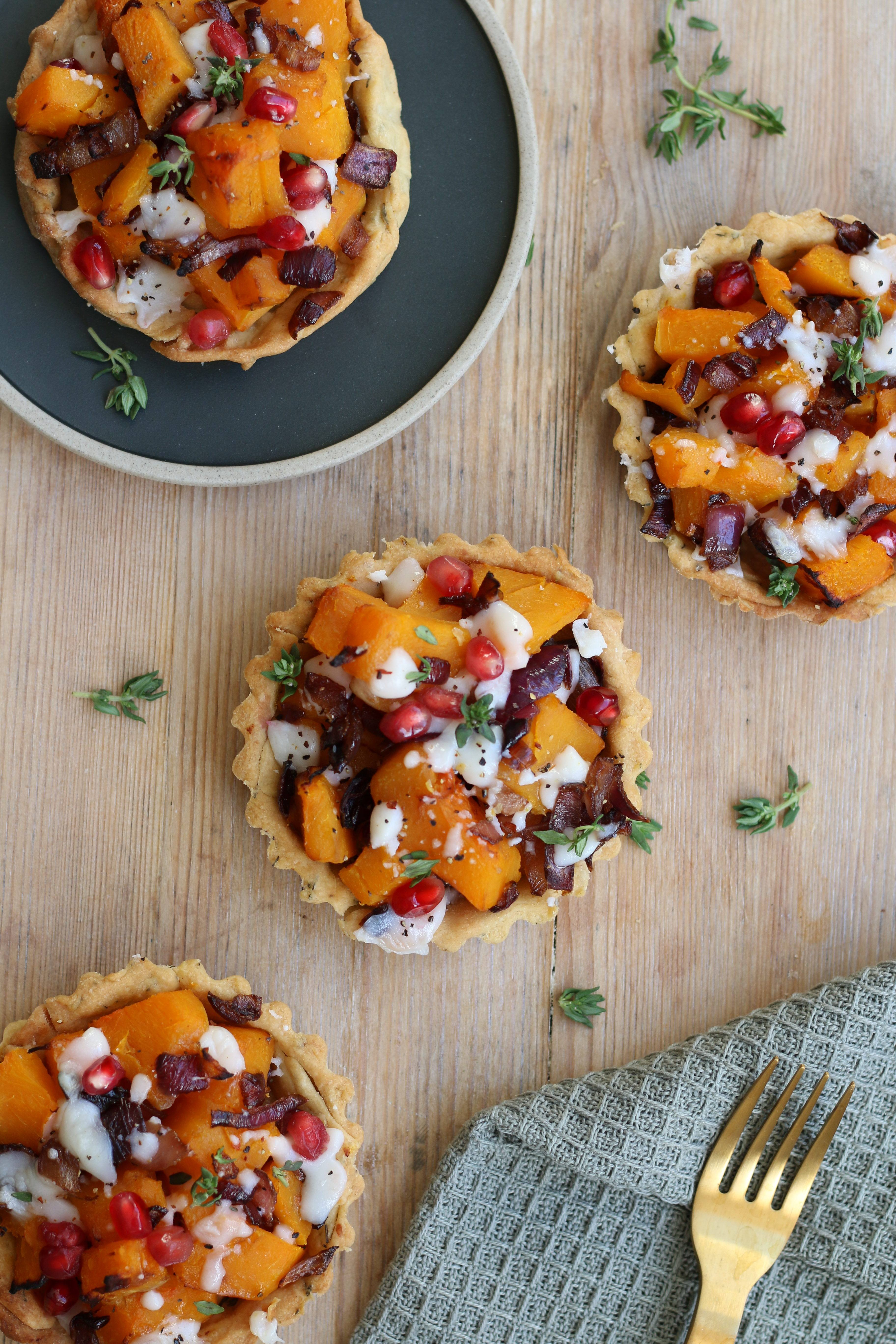 vegan butternut tart recipe