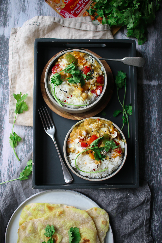 easy vegan curry recipe