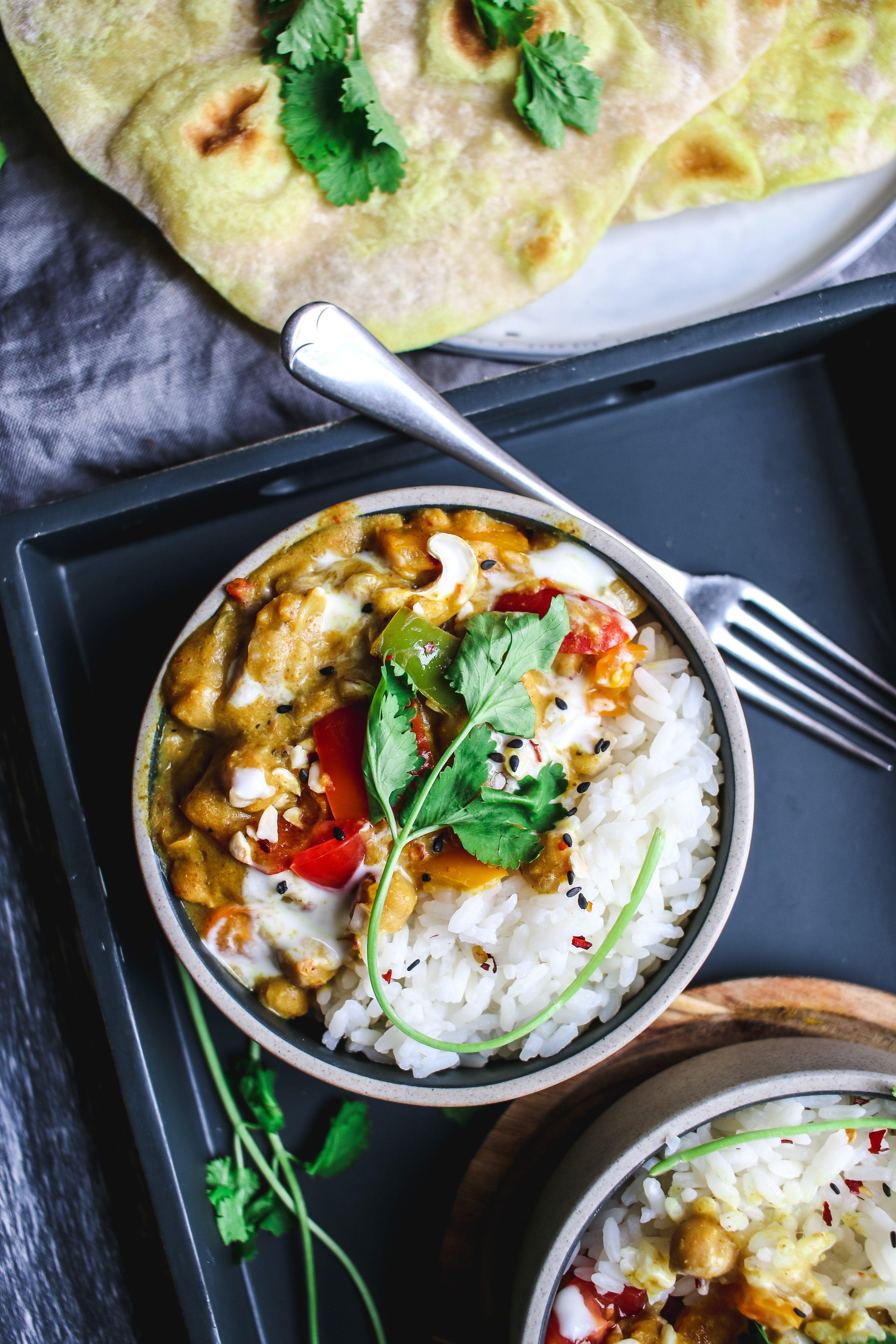 vegan curry recipe easy