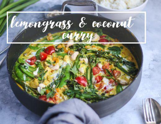 vegan lemongrass curry